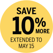 Save 10% more; subscribe by May 13