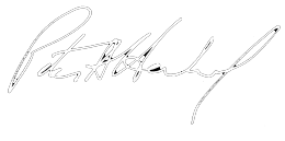 Peter Herrndorf signature
